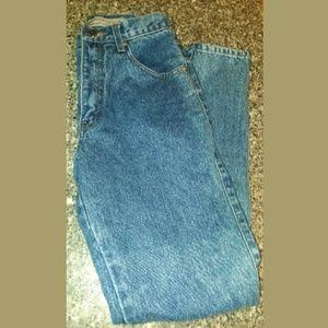 RARE Vintage Levi's 900 Blue Acid Wash Jeans SZ 5